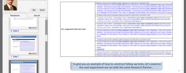 Test Protocol Example
