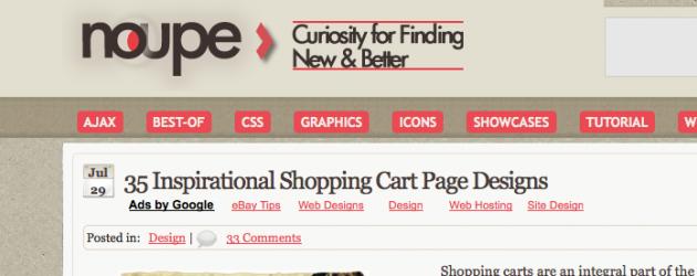 More Shopping Cart Inspiration