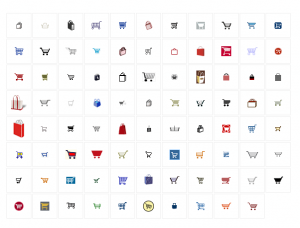 Shopping Carts and Bags Icons